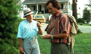 Bob Wiley & Dr. Marvin at Lake Winnipesaukee