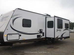 2015 forest river surveyor cadet travel trailer