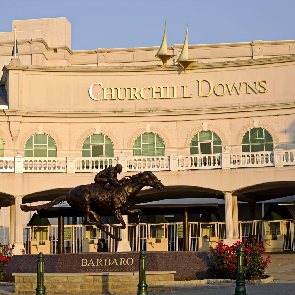 Churchill Downs Barbaro Entrance and Façade
